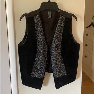Morgan Taylor Velvet and Brocade Vest